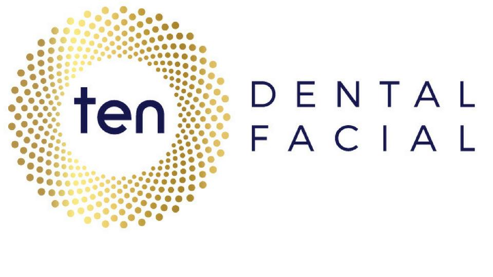 Ten Dental Facial Logo